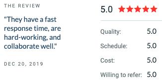 glowing feedback