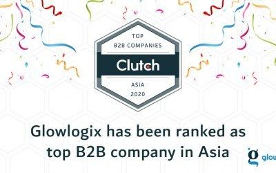 Glowlogix Pvt. Ltd Awarded by Clutch, a Top B2B company
