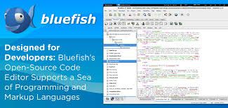Bluefish, web design & develop paltform