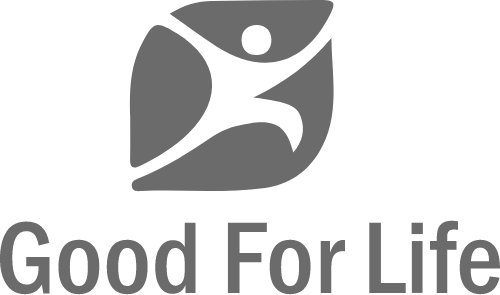 Good for life Logo Section of Glowlogix